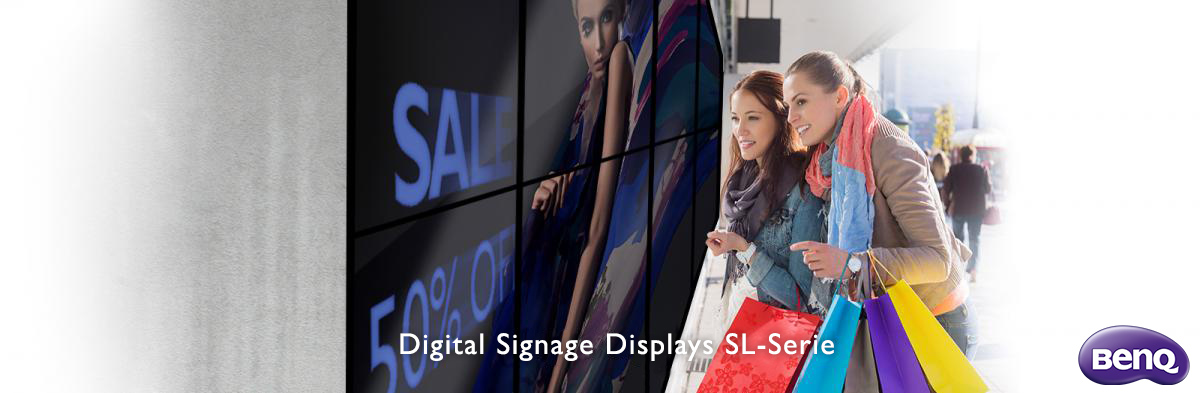 BenQ Digital Signage 2